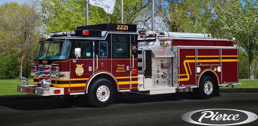 Troy FD Pierce Arrow XT engine