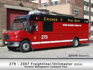 Chicago Fire Department Command Post
