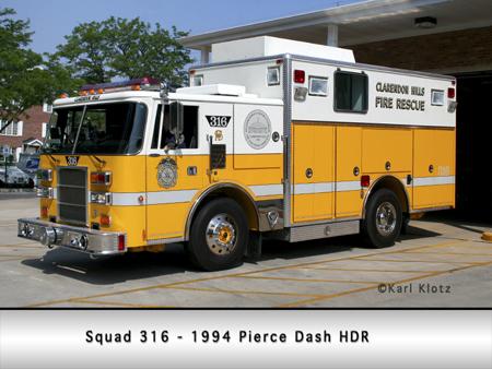 Clarendon Hills Pierce Dash Squad