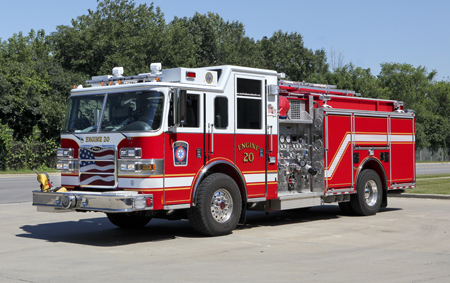 Deerfield Engine 20 2009 Pierce Arrow XT