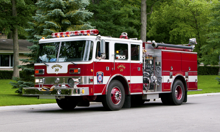 Deerfield Engine 20 1991 Pierce Arrow