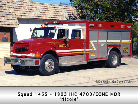 Dolton Fire Department IHC E-ONE rescue