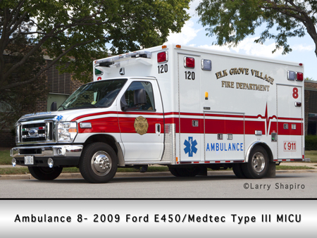 Elk Grove Village Medtec Ambulance