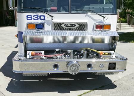 Glencoe squad 30 extrication tools