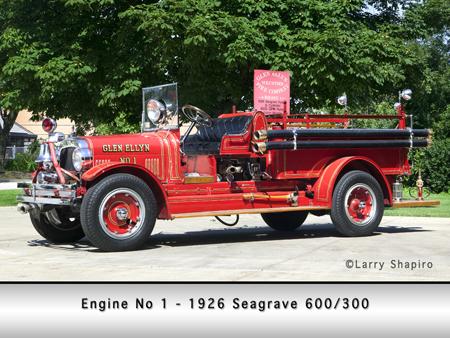 Glen Ellyn FC 1926 Seagrave pumper