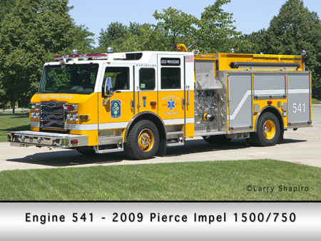 Lisle Woodridge 2009 Pierce Impel engine