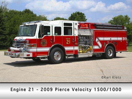 McHenry Townshp Pierce Velocity engine