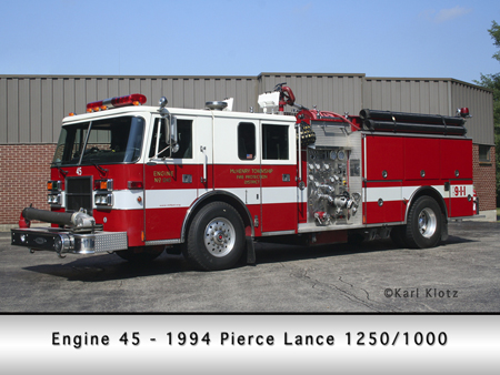 McHenry Township Pierce Lance pumper