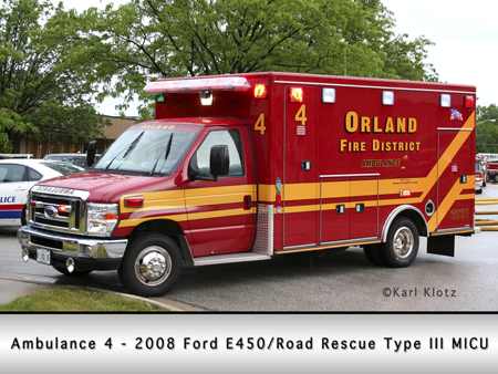 Orland FPD Ford/Road Rescue Type III MICU