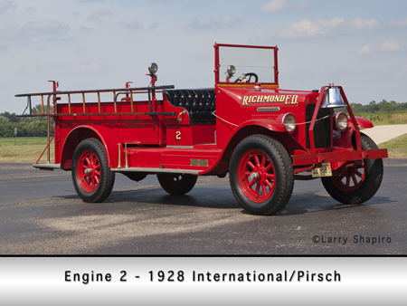 Richmond FPD antique Pirsch