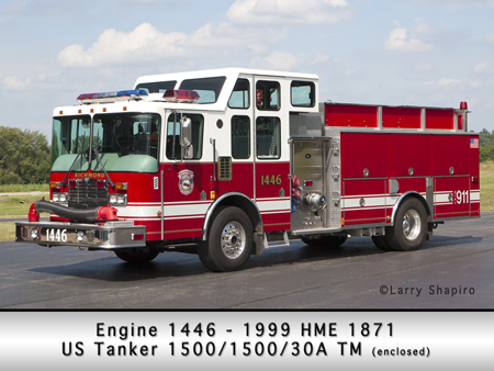 Richmond FPD HME US Tank pumper/tanker