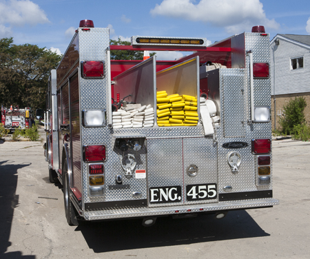 Schiller Park Pierce Impel pumper low hosebed