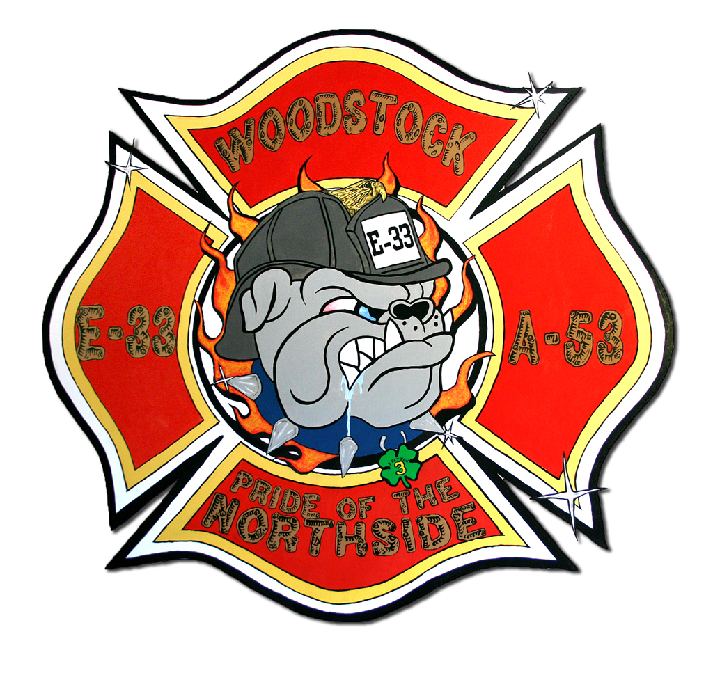 Woodstock Fire District Station 3 decal