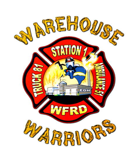 Woodstock Fire District Station 1 decal