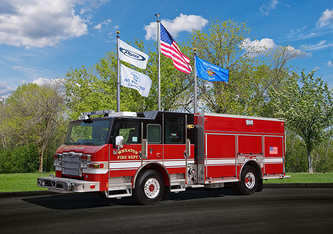 Wheaton FD Impel PUC pumper Pierce