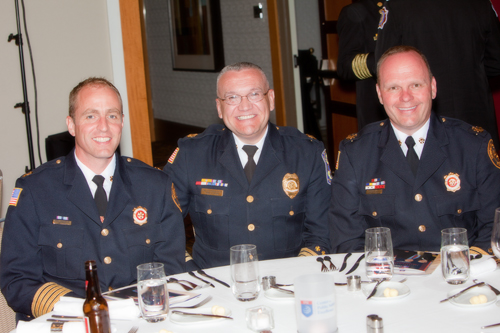 Lisle Woodridge and Downers Grove fire chiefs