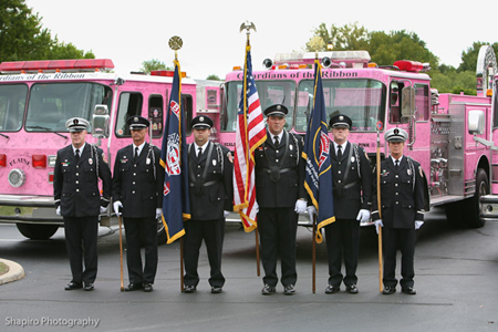 Pink Heals Tour 2010 Buffalo Grove Fire Department IAFF Honor Guard