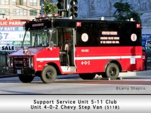 Chicago 5-11 Club Canteen
