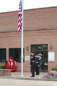 Lincolnshire-Riverwoods FPD 9/11 commemorative ceremony