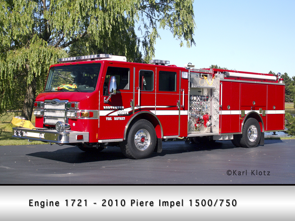 Northwest Homer FPD Pierce Impel pumper