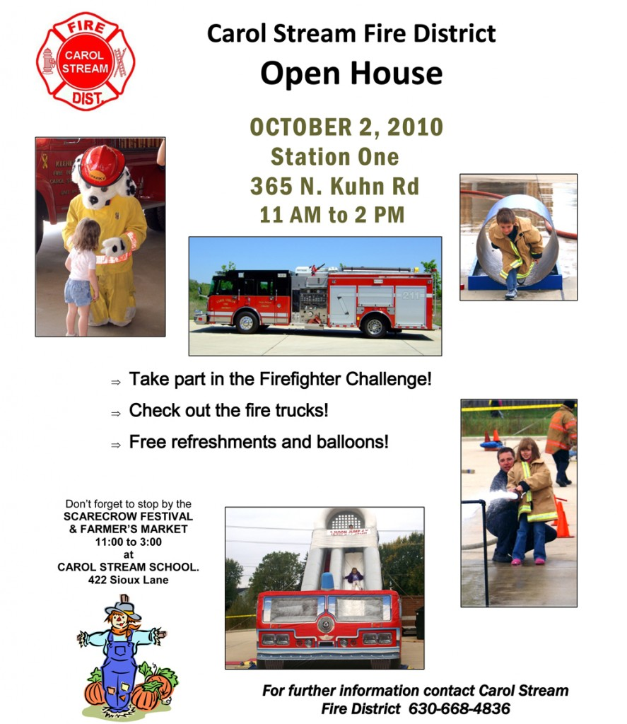 Carol Stream Fire Department Open House