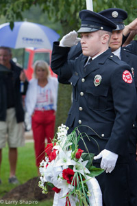 Palatine Rural FPD 9/11 commemorative ceremony