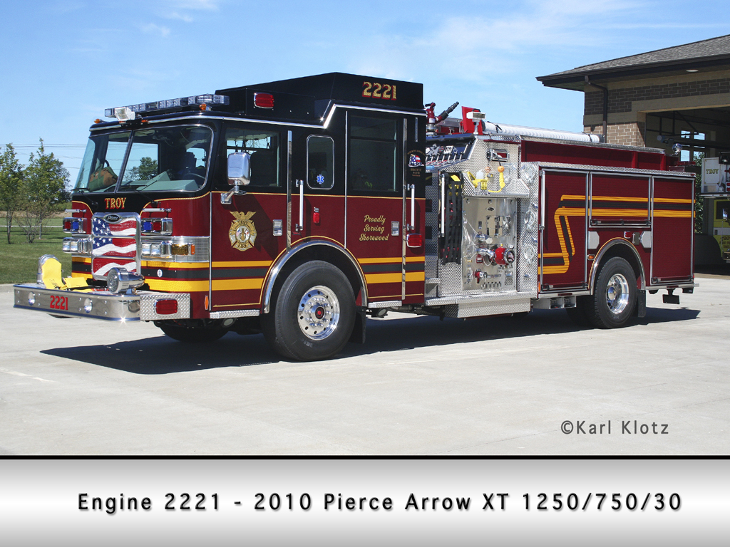 Troy FPD Pierce Arrow XT engine