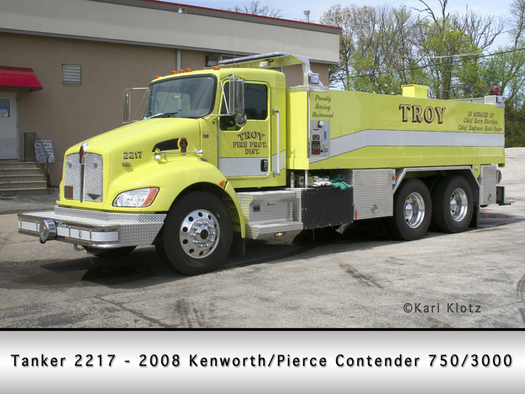 Troy FPD Kenworth Pierce Contender tanker
