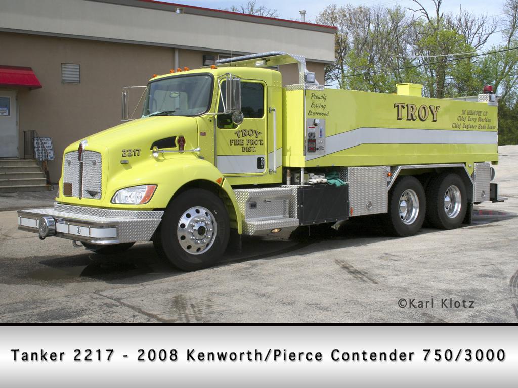 Troy FPD Kenworth Pierce Contender tanker
