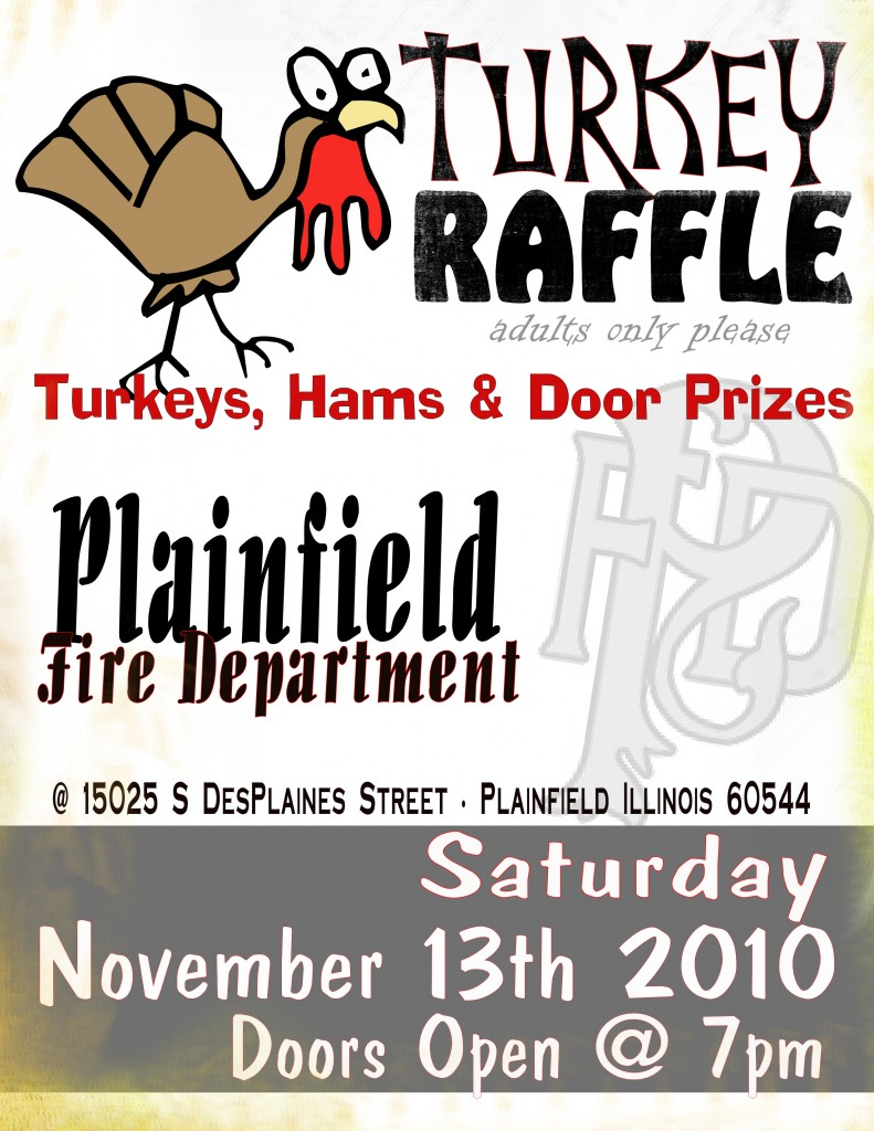 Plainfield FD Turkey Raffle
