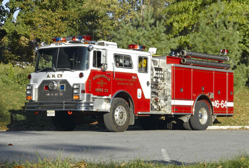 Annandale, NJ Mack CF engine