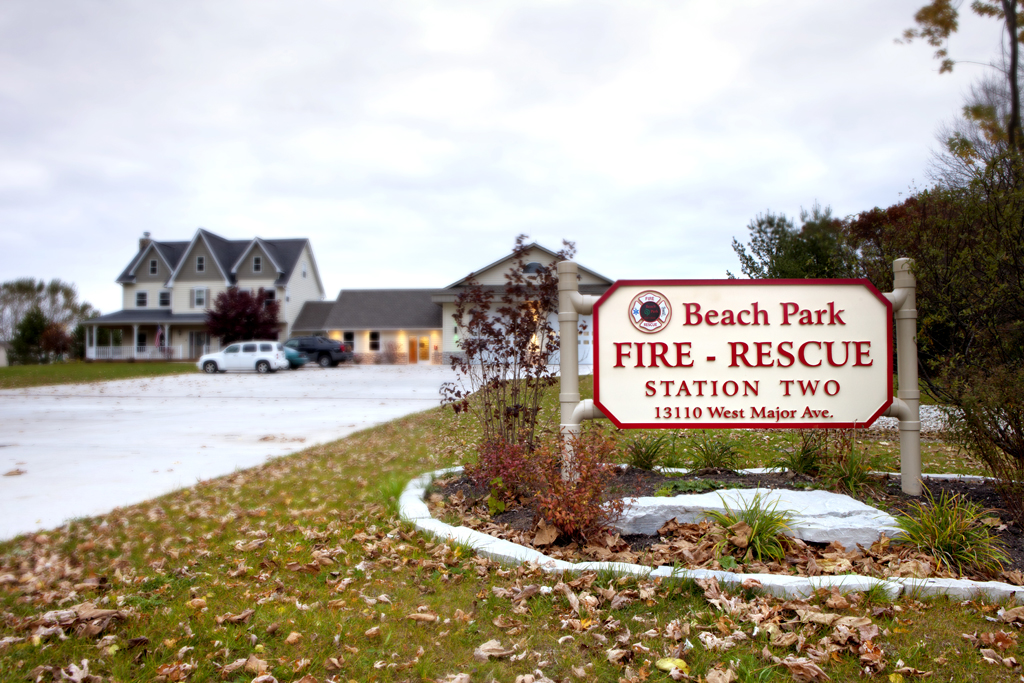 Beach Park Fire Protect District Station 2