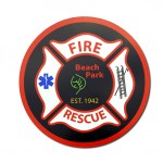 Beach Park Fire Protection District decal