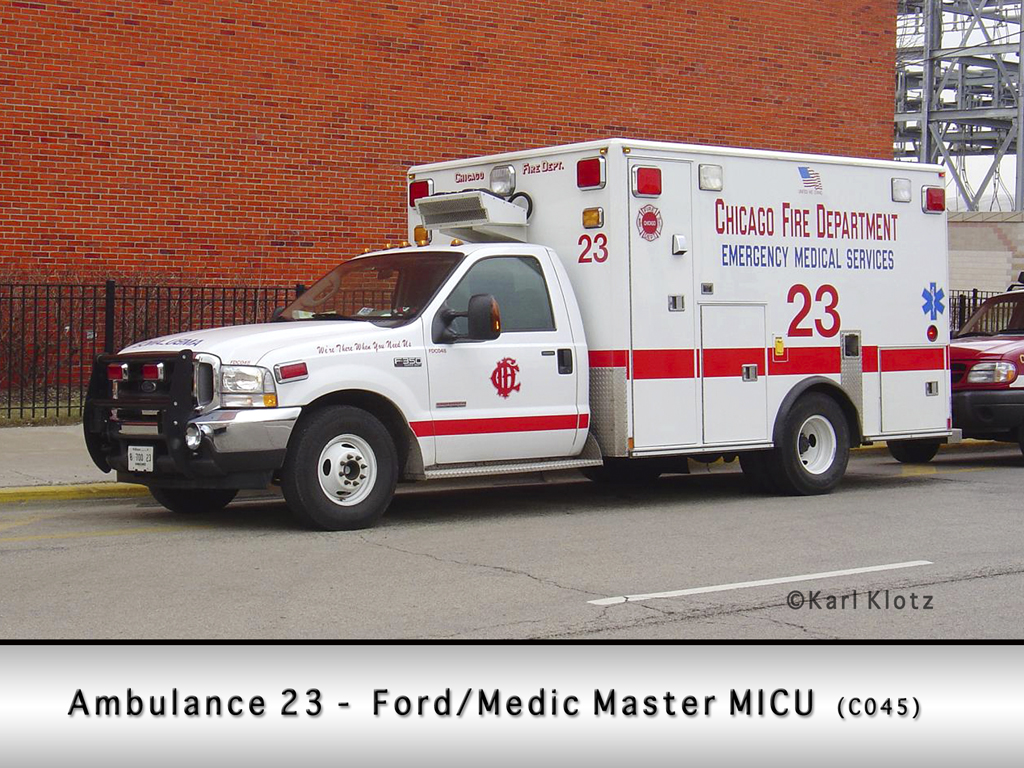 Chicago Fire Department Ambulance 23