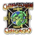 Chicago Fire Department Chinatown decal
