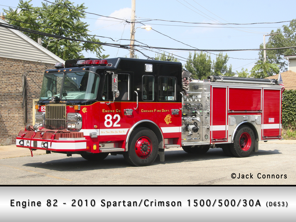 Chicago Fire Department Engine 82