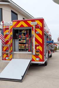 Carol Stream Fire District 2010 Spartan Metro Star Alexis technical rescue unit
