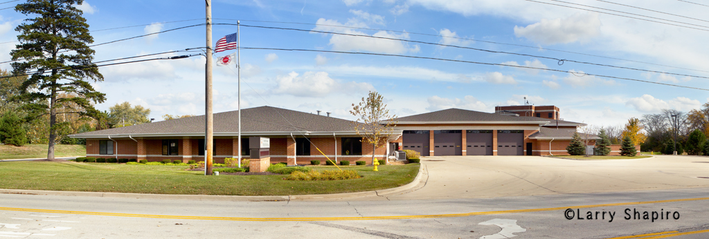Carol Stream Fire District headquarters station and training facility