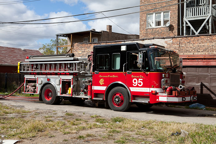 Chicago Fire Department engine 95