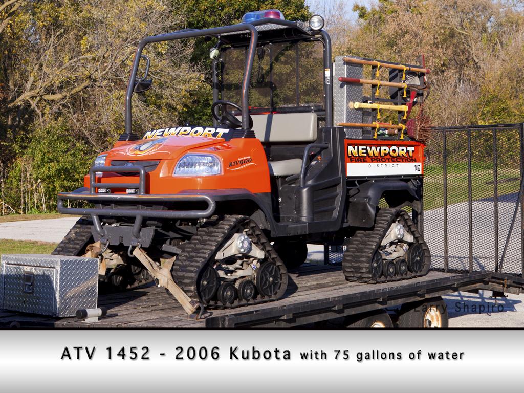 Newport Township FPD Kubota ATV