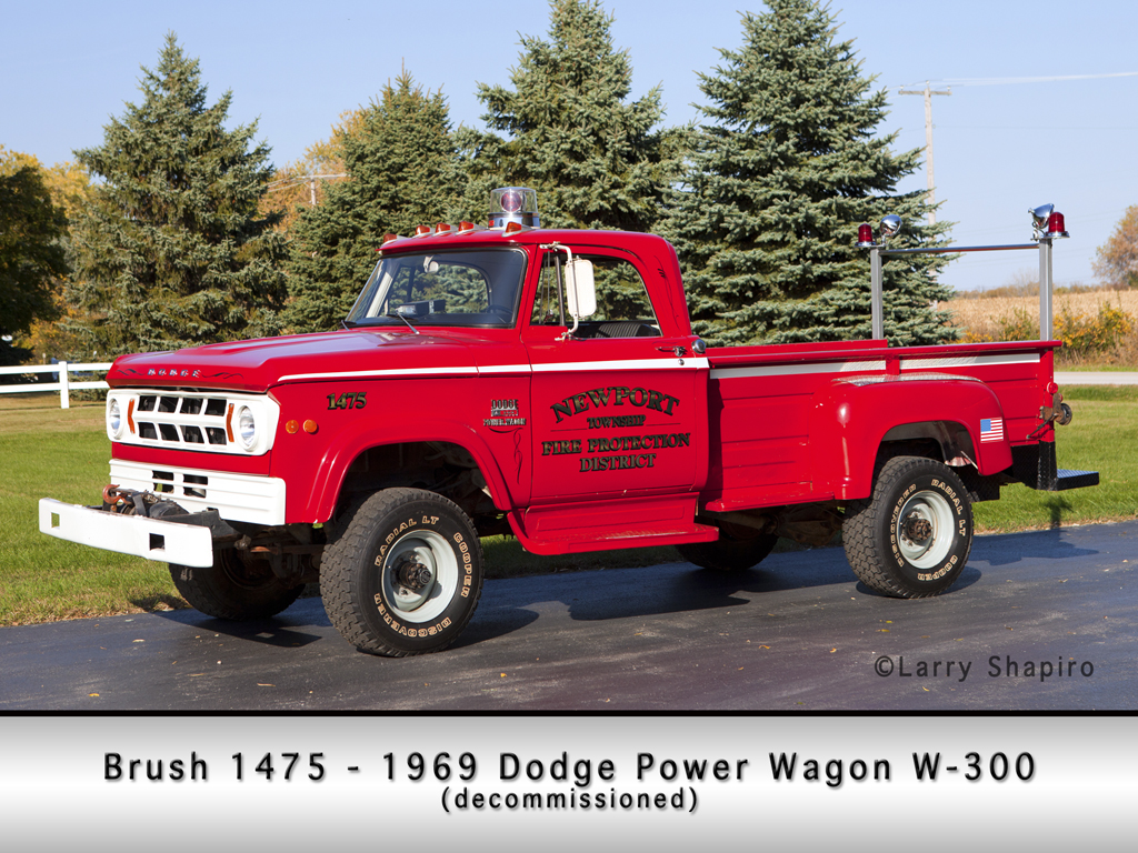 Newport Township FPD Dodge Power Wagon