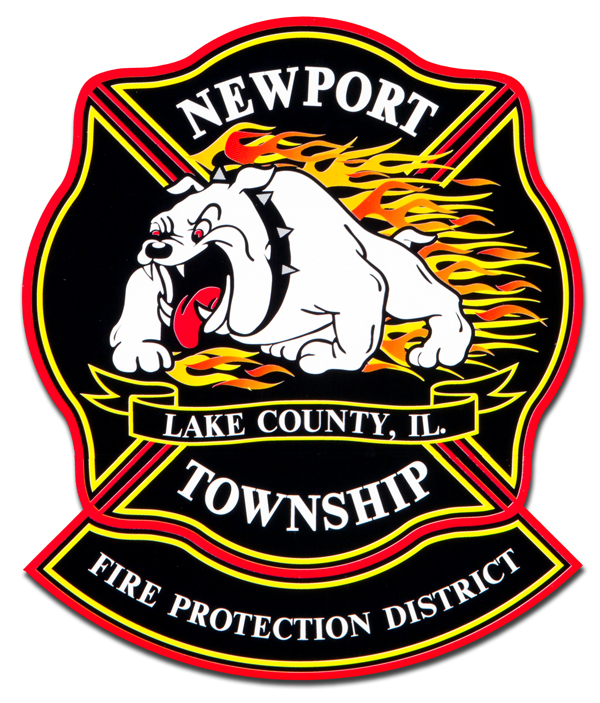 Newport Township FPD decal