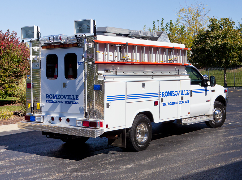 Romeoville Emergency Management Agency rescue
