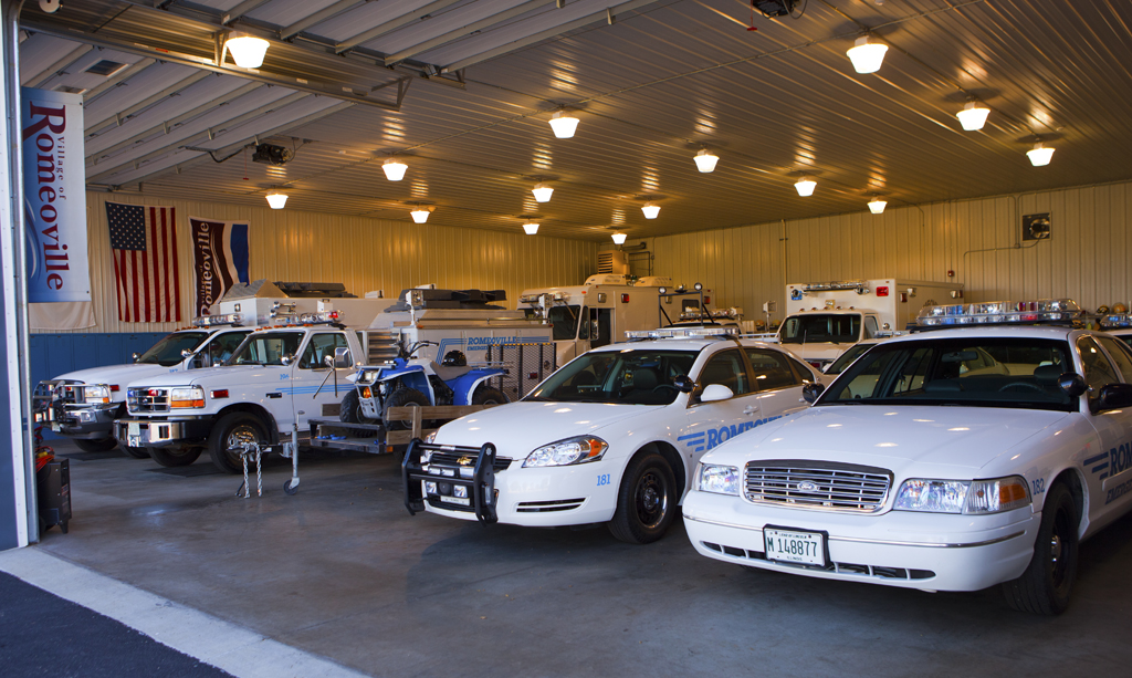 Romeoville Emergency Management Agency fleet