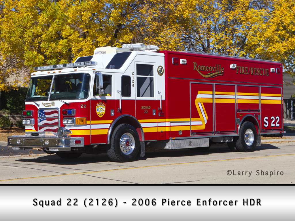 Romeoville Pierce Enforcer HDR