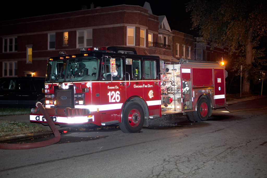 Chicago Fire Department engine 126