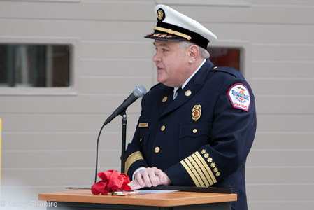 Wheeling Fire Chief Keith MacIsaac
