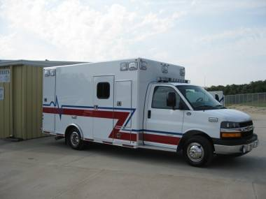 Bellwood Fire Department Osage ambulance