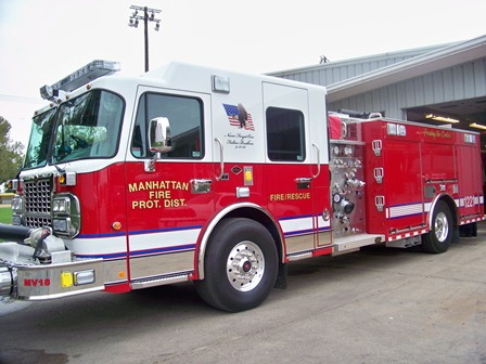 Manhattan FPD IL Spartan Alexis engine