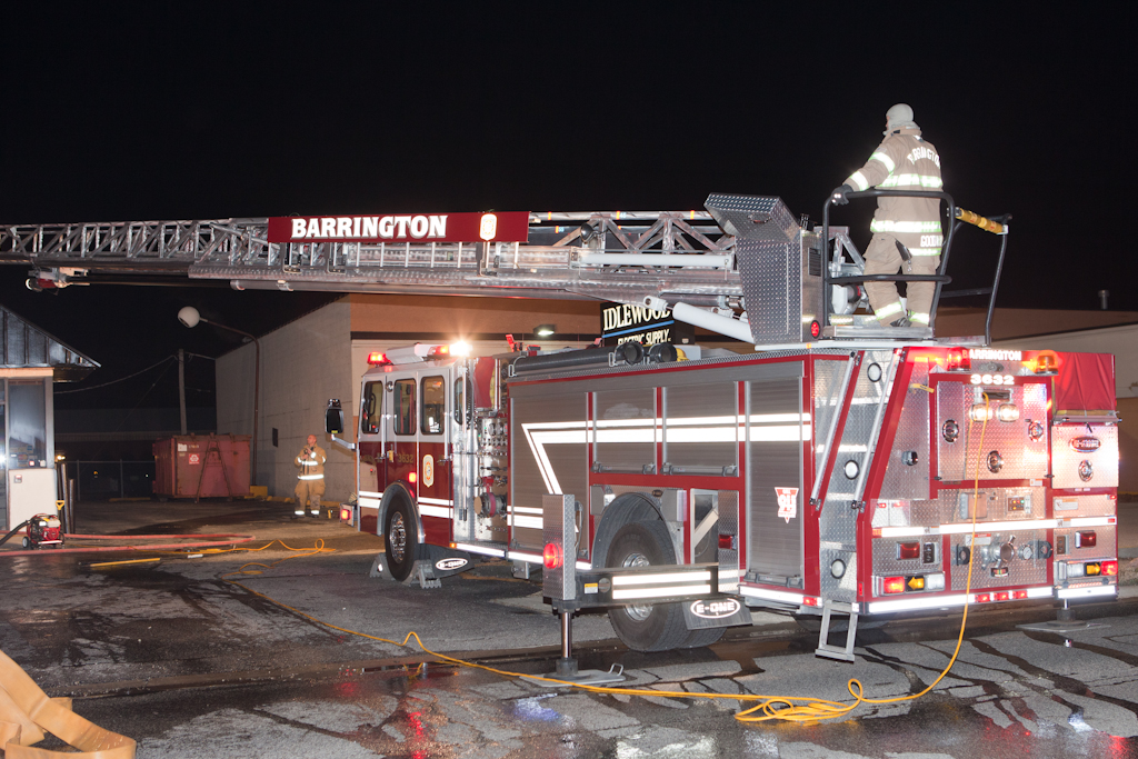 Barrington Fire Department fire 301 W. Northwest Highway